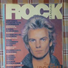 Revistas de música: REVISTA ROCK ESPEZIAL Nº 1 (THE POLICE, DAVID BOWIE, ECHO & THE BUNNYMEN...). Lote 257596505