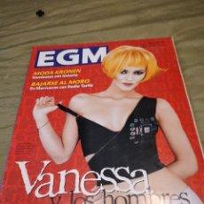 Riviste di musica: G-74 REVISTA EGM. (EL GRAN MUSICAL) NÚM. 418. 1995. VANESSA Y LOS HOMBRES. Lote 257902925