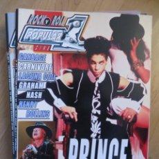 Riviste di musica: POPULAR 1:N.510-PRINCE-AXL ROSE & AC/DC-GARBAGE-CARNIVORE-LACUNA COIL-HENRY ROLLINS. Lote 259308950
