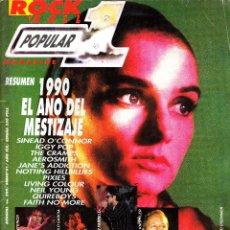 Revistas de música: REVISTA POPULAR 1 NUMERO 209 1990 EL AÑO DEL MESTIZAJE. Lote 259719420