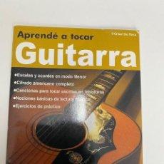 Riviste di musica: APRENDÉ A TOCAR GUITARRA, EDICIÓN ARGENTINA, VER FOTOS (3,33 ENVÍO CERTIFICADO). Lote 259918125