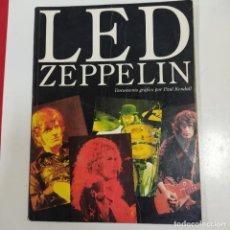 Revistas de música: LED ZEPPELIN DOCUMENTO GRAFICO (2777/21). Lote 260820185