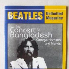 Magazines de musique: REVISTA FANZINE BEATLES UNLIMITED MAGAZINE 183 GEORGE HARRISON BANGLA DESH 2005. Lote 260835710