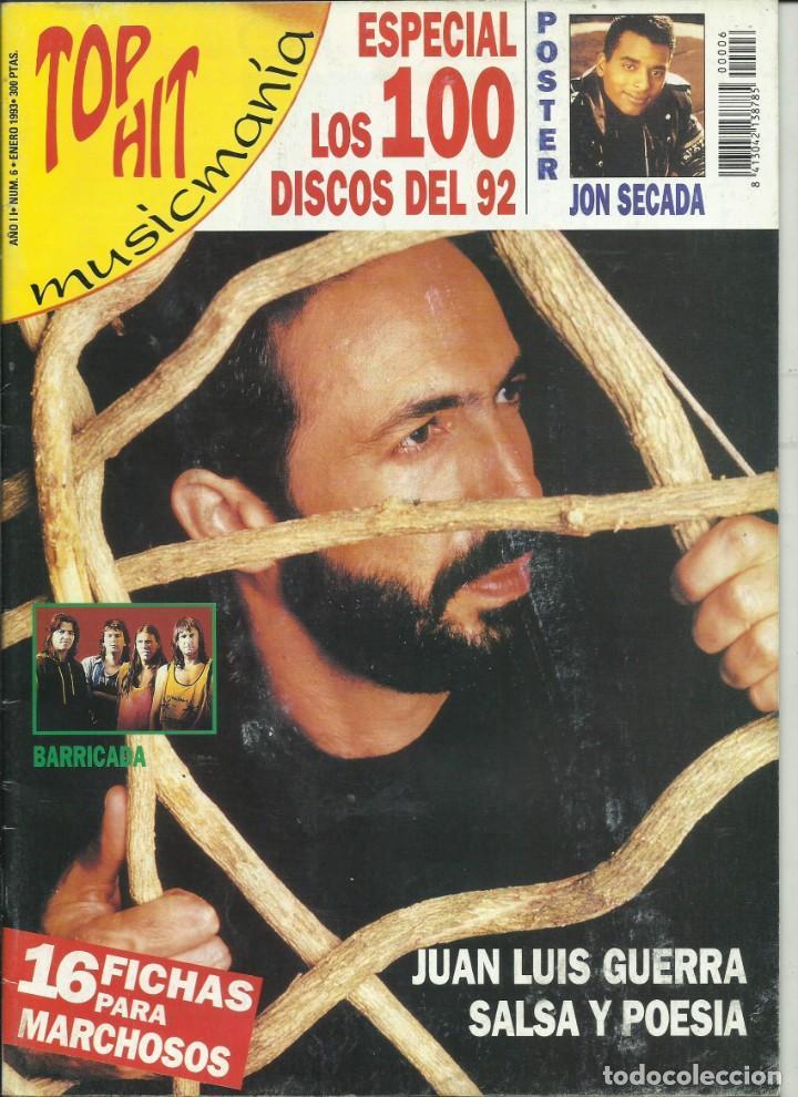 TOP HIT NUMERO 6 (Música - Revistas, Manuales y Cursos)
