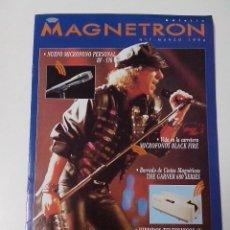 Revistas de música: MAGNETRON CATALOGO Nº 7 MARZO 1994 SENNHEISER. Lote 261292840