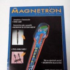 Revistas de música: MAGNETRON CATALOGO Nº 4 SEPTIEMBRE 1993 SENNHEISER. Lote 261293055