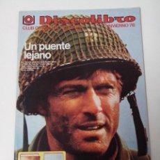 Revistas de música: DISCOLIBRO REVISTA CATALOGO INVIERNO 1978. Lote 261294025