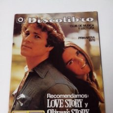 Revistas de música: DISCOLIBRO REVISTA CATALOGO PRIMAVERA 1978. Lote 261294105