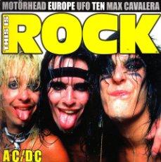 Revistas de música: REVISTA THIS IS ROCK NUMERO 30 EL LADO SALVAJE Y PELIGROSO DEL ROCK. Lote 261299210