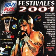 Revistas de música: REVISTA HEAVY ROCK ESPECIAL NUMERO 61 LA ROCKVOLUCIÓN. Lote 261301470