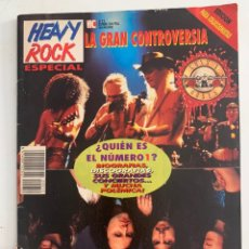 Revistas de música: REVISTA HEAVY ROCK ESPECIAL Nº 12 METALLICA GUNS N' ROSES. Lote 262402705
