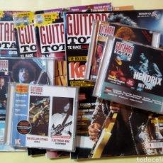 Revistas de música: LOTE DE 4 REVISTAS GUITARRA TOTAL .N 8,9,10 Y 56 CON SUS CDS. Lote 262640355