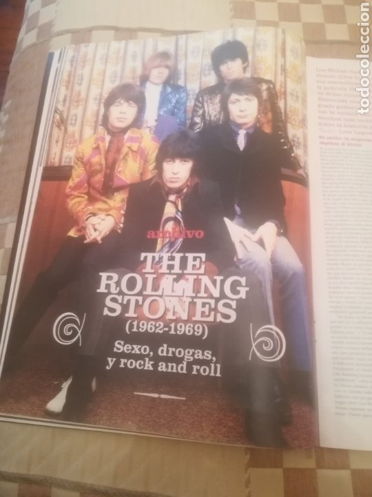 Revistas de música: Revista efe eme. Nº 66. Marzo 2005. Rolling Stones. La Habitación Roja. Amaral. Beck. Chunguitos. - Foto 7 - 262642095