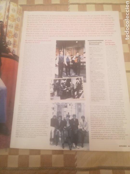 Revistas de música: Revista efe eme. Nº 66. Marzo 2005. Rolling Stones. La Habitación Roja. Amaral. Beck. Chunguitos. - Foto 8 - 262642095