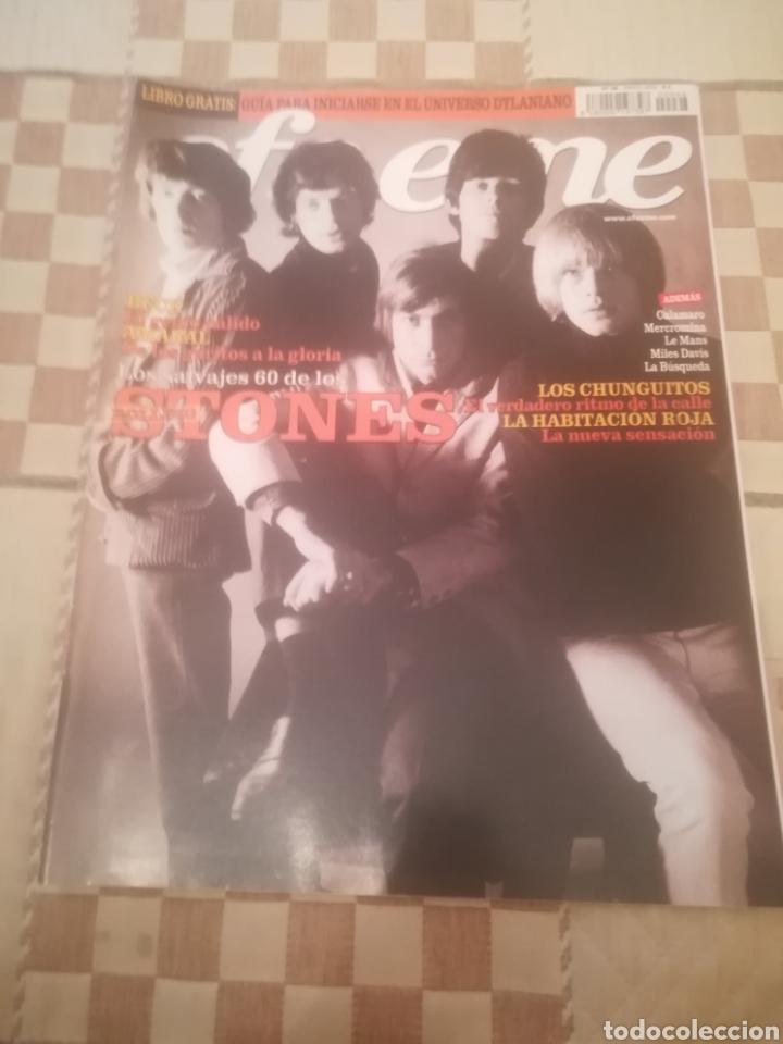 REVISTA EFE EME. Nº 66. MARZO 2005. ROLLING STONES. LA HABITACIÓN ROJA. AMARAL. BECK. CHUNGUITOS. (Música - Revistas, Manuales y Cursos)