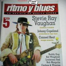 Revistas de música: RITMO Y BLUES Nº 5, CEPHAS & WIGGINS, JOHNNY COPELAND, FENTON ROBINSON, BOB MARGOLIN, CANNED HEAT. Lote 262655150