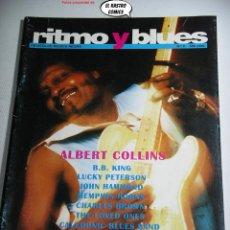 Revistas de música: RITMO Y BLUES Nº 2, MELVIN TAYLOR, LUCKY PETERSON, JOHN HAMMOND, LOVED ONES, ALBERT COLLINS, COWDREY. Lote 262655425