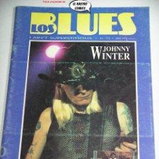 Revistas de música: SOLO BLUES Nº 13, JOHNNY WINTER, WILLIE DIXON, ART BLAKEY, C J CHENIER, JERRY ROLL MORTON, TAJ MAHAL. Lote 262655870