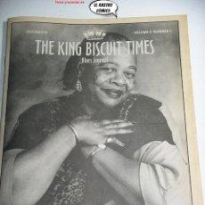 Revistas de música: THE KING BISCUIT TIMES, BLUES JOURNAL Nº 4, CHICAGO BLUES FEST 95, BONNIE LEE,. Lote 262656140