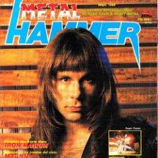 Revistas de música: REVISTA METAL HAMMER NUMERO 6 BRUCE DICKINSON (IRON MAIDEN). Lote 262792815
