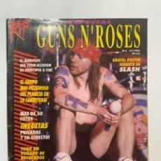 Revistas de música: REVISTA RIP Nº 6 ESPECIAL GUNS N' ROSES. Lote 263158510