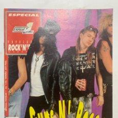 Revistas de música: REVISTA POPULAR 1 N° 122 ESPECIAL GUNS N' ROSES. Lote 263159350
