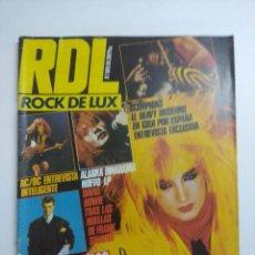 Revistas de música: ROCK DE LUX Nº1/WASP- ALASKA.. Lote 263719700