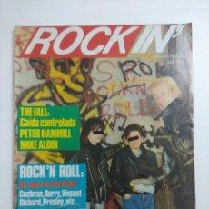 Revistas de música: ROCKIN' Nº4/THE FALL.. Lote 263720955