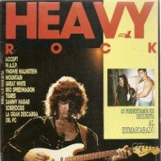 Revistas de música: REVISTA HEAVY ROCK NUMERO 25 DEEP PURPLE. Lote 264095955