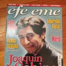 Riviste di musica: REVISTA EFE EME 10. SEPTIEMBRE 1999. SABINA, SEGURIDAD SOCIAL, LAGARTIJA NICK. Lote 264098490