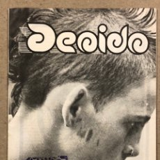 Revistas de música: DE OÍDO N° 1 (MADRID!1982). HISTÓRICO FANZINE ORIGINAL MOVIDA MADRILEÑA; ALASKA, LA MODE, PARÁLISIS. Lote 265486419