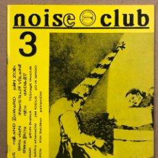 Revistas de música: NOISE CLUB N° 3 (MADRID 1996). HISTÓRICO FANZINE;, MACROMASSA, SURFIN' BICHOS, PAVEMENT, FUGAZI,.... Lote 265504979