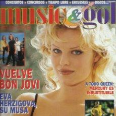 Magazines de musique: MUSIC GOL. Lote 265982198
