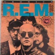 Riviste di musica: R.E.M. CRONICA. EDITORIAL LA MÁSCARA.. Lote 266884704