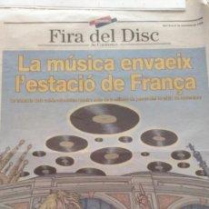 Riviste di musica: FIRA DEL DISC DE BARCELONA (1999). Lote 267754384