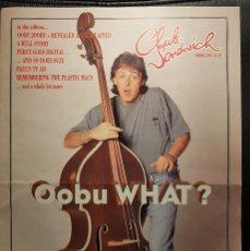Riviste di musica: PAUL MCCARTNEY - BEATLES - REVISTA OFICIAL CLUB SANDWICH - NUMERO 73 - 1995 - NO USO CORREOS. Lote 267815989