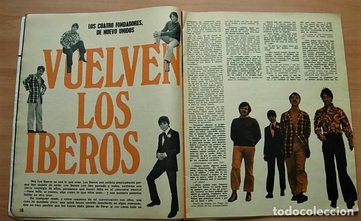 Revistas de música: Revista MUNDO JOVEN Nº 79 MIGUEL RIOS GIORGIO LOS IBEROS LLUIS LLACH Poster: EUROVISION 70 Completa - Foto 3 - 268266939