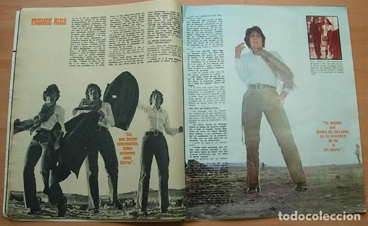 Revistas de música: Revista MUNDO JOVEN Nº 79 MIGUEL RIOS GIORGIO LOS IBEROS LLUIS LLACH Poster: EUROVISION 70 Completa - Foto 4 - 268266939
