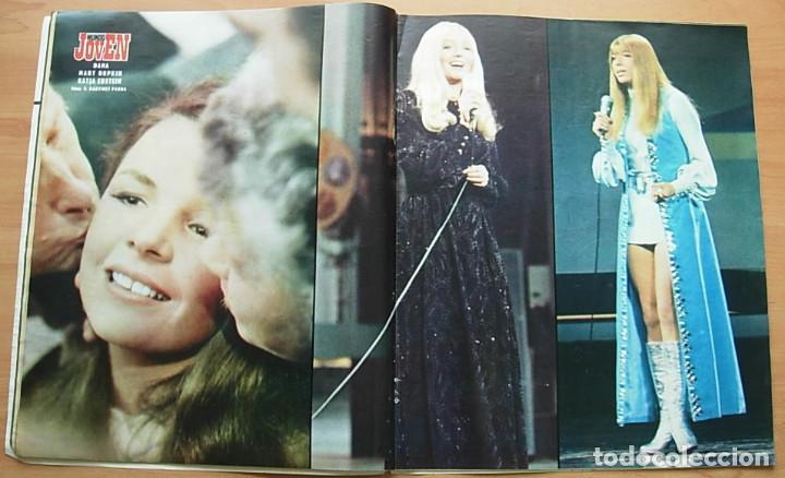 Revistas de música: Revista MUNDO JOVEN Nº 79 MIGUEL RIOS GIORGIO LOS IBEROS LLUIS LLACH Poster: EUROVISION 70 Completa - Foto 5 - 268266939