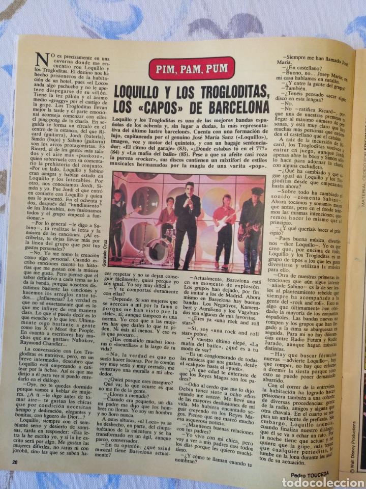 REVISTA CON LOQUILLO ABC 1986 (Música - Revistas, Manuales y Cursos)