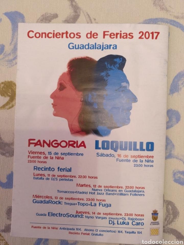 LIBRETO FIESTAS GUADALAJARA 2017 CON LOQUILLO (Música - Revistas, Manuales y Cursos)