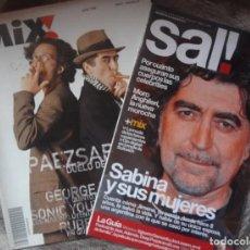 Riviste di musica: REVISTA JOAQUIN SABINA EN PORTADA. Lote 269168598