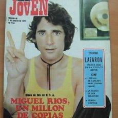 Revistas de música: REVISTA MUNDO JOVEN Nº 96 MIGUEL RIOS JOHNNY WINTER ANDRES DO BARRO DOLORES VARGAS 1970 COMPLETA. Lote 269224008