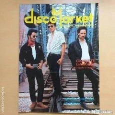 Revistas de música: DISCO MARKET NUM 4. GABINETE CALIGARI. MOVIDA AFRICANA. MORRISEY RAMONCIN MERMELADA CHICO BUARQUE. Lote 269302443
