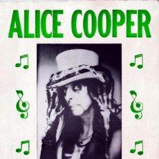 Revistas de música: ALICE COOPER: EXCELENTE REPRO DE POSTER DE CONCIERTO EN DIN A 3- PARA ENMARCAR- COLECCIONISTAS. Lote 270550078