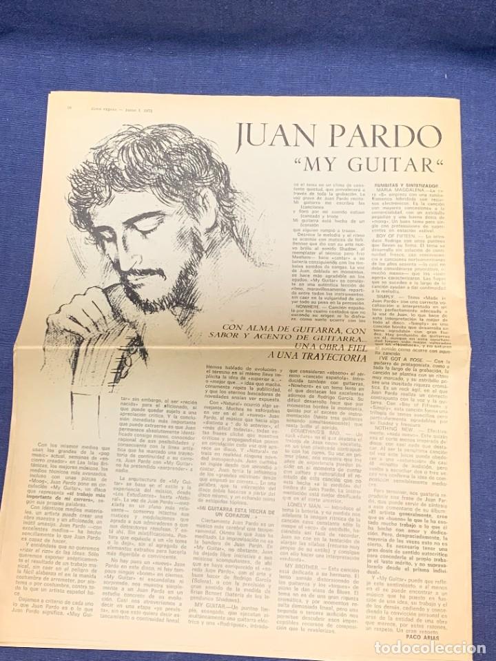 Revistas de música: PERIODICO DISCO EXPRES Nº 226 AÑO 1973 LED ZEPPELIN 35X27CMS - Foto 2 - 270943263