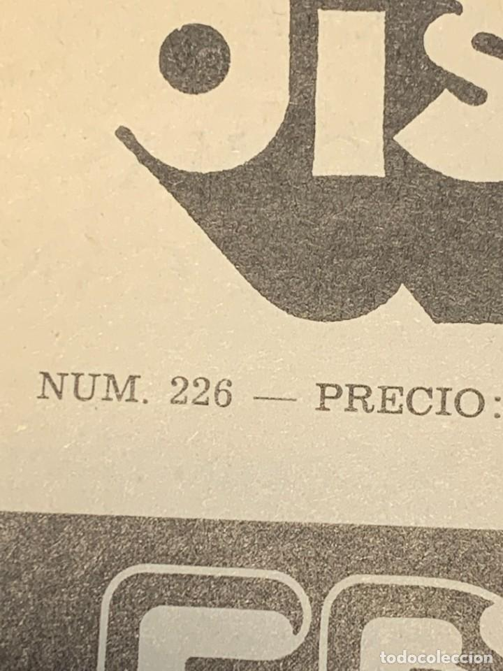 Revistas de música: PERIODICO DISCO EXPRES Nº 226 AÑO 1973 LED ZEPPELIN 35X27CMS - Foto 5 - 270943263