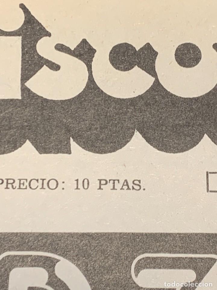 Revistas de música: PERIODICO DISCO EXPRES Nº 226 AÑO 1973 LED ZEPPELIN 35X27CMS - Foto 6 - 270943263