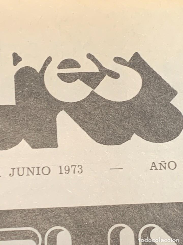 Revistas de música: PERIODICO DISCO EXPRES Nº 226 AÑO 1973 LED ZEPPELIN 35X27CMS - Foto 8 - 270943263