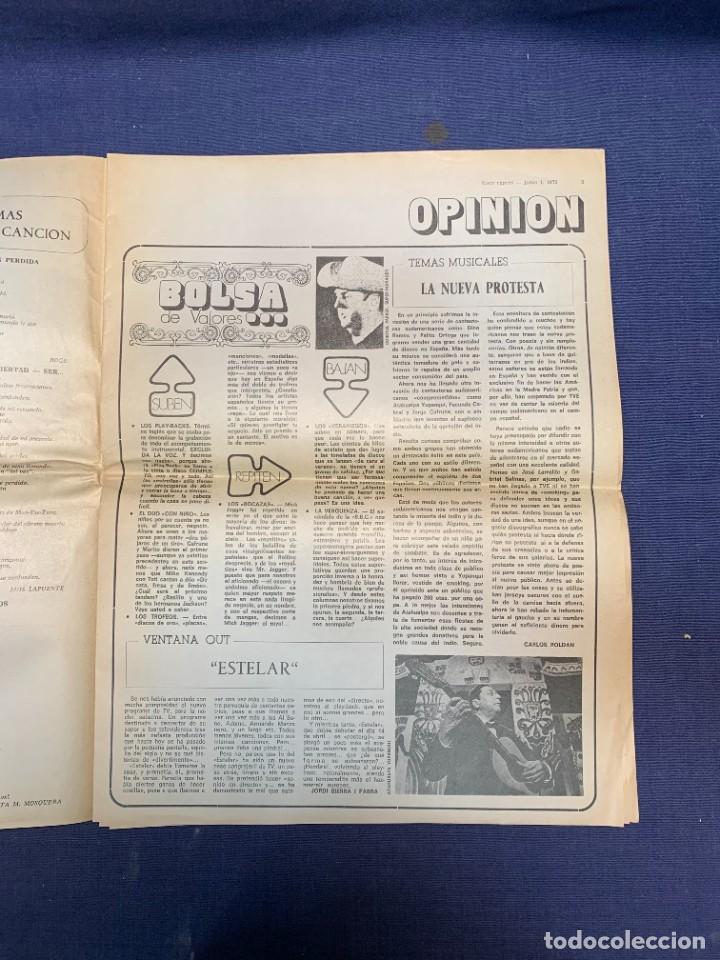 Revistas de música: PERIODICO DISCO EXPRES Nº 226 AÑO 1973 LED ZEPPELIN 35X27CMS - Foto 13 - 270943263